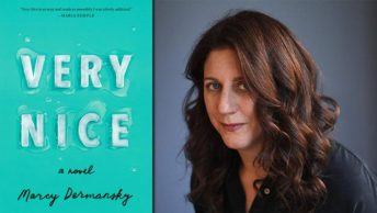 Capa do livro Very Nice, de Marcy Dermansky